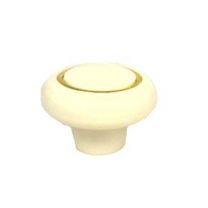 Ручка кнопка мебельная KL-42 WW (белый)