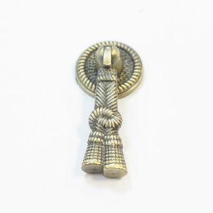 Ручка кнопка мебельная KL-44 AB (бронза)