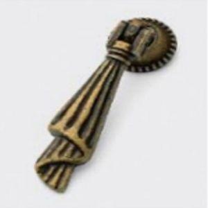 Ручка кнопка мебельная KL-45 AB (бронза)