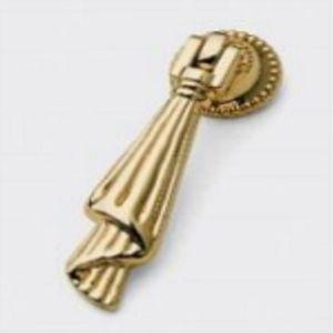 Ручка кнопка мебельная KL-45 PB (золото)