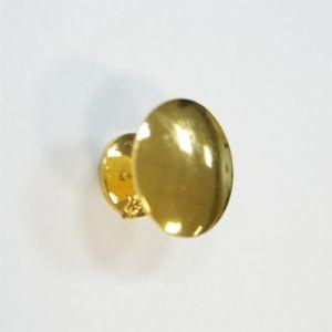 Ручка кнопка мебельная KL-49 PB (золото)