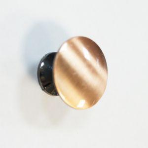 Ручка кнопка мебельная KL-49 AC (медь)