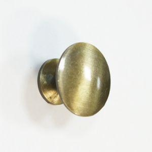 Ручка кнопка мебельная KL-49 AB (бронза)