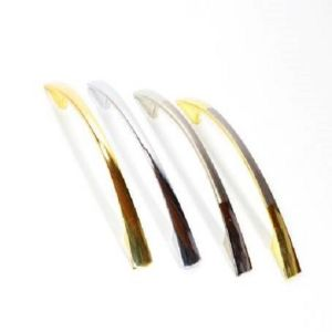 Ручка мебельная KL-665-128 PB/SS (золото и мат.хром)
