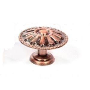 Ручка кнопка мебельная KL-347 AC (медь)