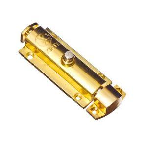 Шпингалет KL-101 PB (золото)