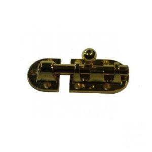 Шпингалет KL-20 A PB (золото)