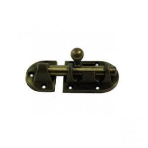 Шпингалет KL-20 A AB (бронза)