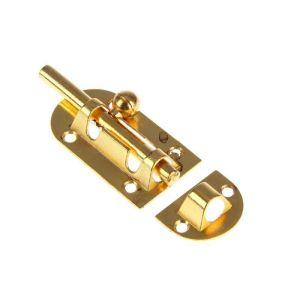 Шпингалет KL-20 PB (золото)