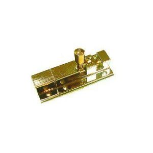 Шпингалет KL-407-1 PB (золото)