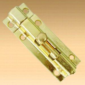 Шпингалет KL-6-M PB (золото)