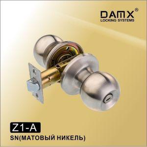 Ручка-защелка DAMX Z1-A SN с фиксатором матовый никель