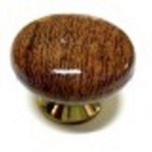 Ручка кнопка мебельная KL-41 CН-1 (дуб)