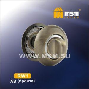 Накладки под ключ MSM R1 AB/CP (бронза/хром)