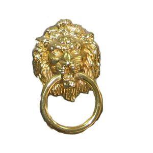Ручка кнопка мебельная KL-2584 М PB (золото)