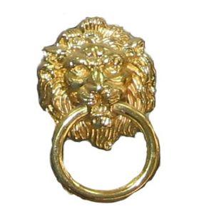 Ручка кнопка мебельная KL-2584 M PB (золото)