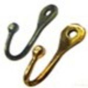 Крючок мебельный KL-75 CP (хром)