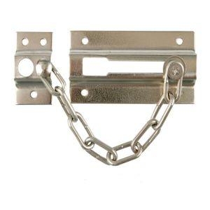 Защелка дверная с цепочкой KL-8206 СP (хром)