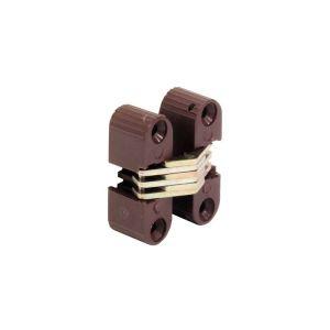 Петля барная NV-01 коричневая