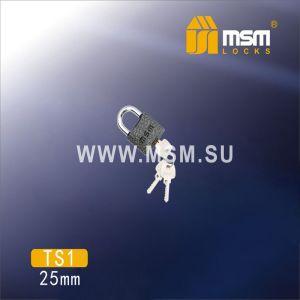 Замок навесной MSM TS1-25