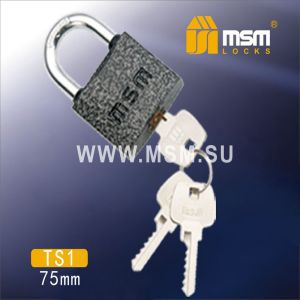 Замок навесной MSM TS1-75