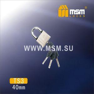 Замок навесной MSM TS3-40