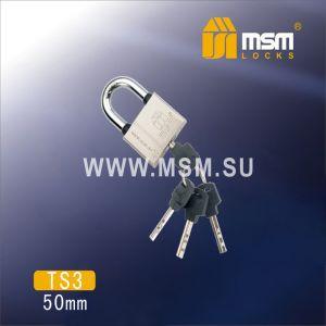Замок навесной MSM TS3-50