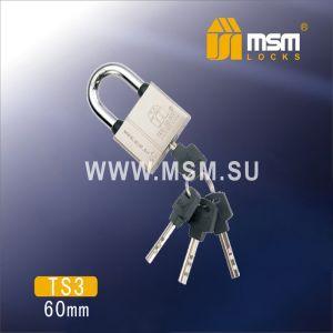 Замок навесной MSM TS3-60
