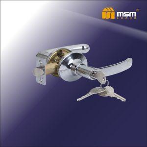 Ручка защелка c ключом Z102-R MSM CP (хром)