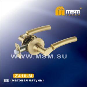Ручка защелка пустышка  Z110-M MSM SB (матовая латунь)