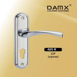 Ручка на планке 405R SN  DAMX (62mm) матовый никель)