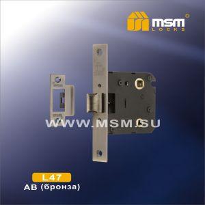Внутренний механизм с защелкой MSM L47 AB бронза