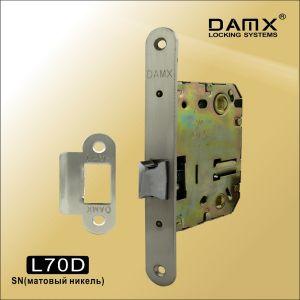 Внутренний механизм с защелкой DAMAX L70D SN матовый никель