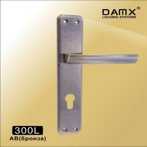 Ручка на планке 300L AB DAMX (47mm) бронза