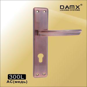 Ручка на планке 300L AC DAMX (47mm) Медь