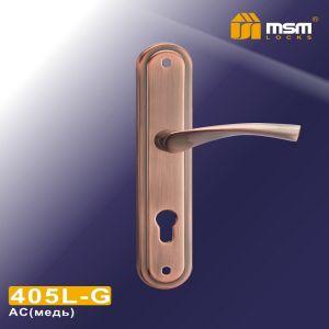 Ручка на планке 405L AC MSM (85mm) медь