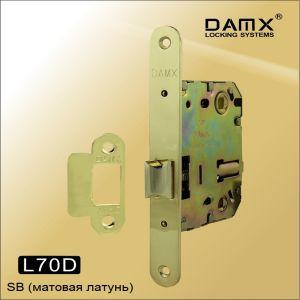 Внутренний механизм с защелкой DAMX L70 SB матовая латунь