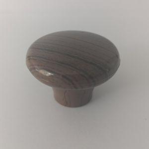 Ручка кнопка мебельная NV-41 B темн.дерево